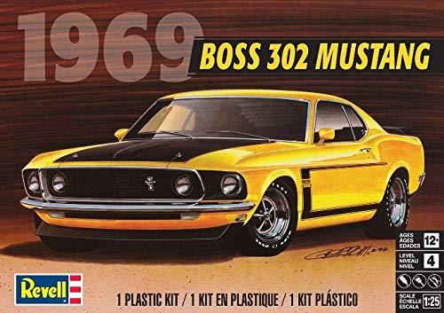 (Revell RMX854313 1/25 69 Boss 302 Mustang)