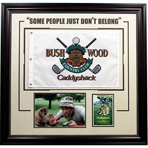 - Caddyshack Collage with Golf Pin Flag