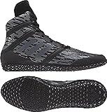 adidas Impact Men's Wrestling Shoes, Black Digital Print, Size 5