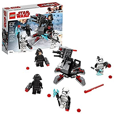 LEGO Star Wars: The Last Jedi First Order Specialists Battle Pack 75197 Building Kit (108 Piece): Toys & Games