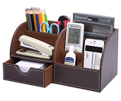 KINGFOM Multifunzionale Organizador de escritorio/Portalapices/Sistema de Escritorio/Organizador de Oficina
