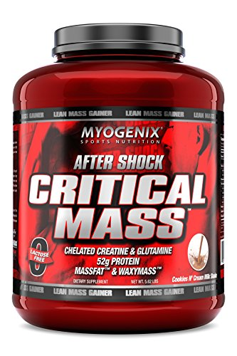 (Myogenix Aftershock Critical Mass Cookies N Cream Milkshake)