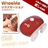 Relaxation Robot WheeMe Red He-20582 Massage Machine