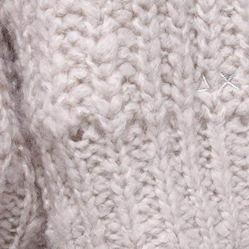 6843y Panna Woman Grey Sun Wool Sweater Size 68 Over Donna Bianco White Mix Maglione light UTg6ZATcFH