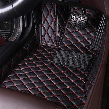 Personalizada de Cuero Auto de Suelo for los pies Mat for Peugeot 307 SW Todo Modelo 308 407 508 Sw RCZ 2008 3008 4008 206 5008 408 107 301 Color : 1PC A