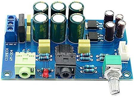 TPA6120ヘッドフォンアンプボードHIFIアンプ完成ボード