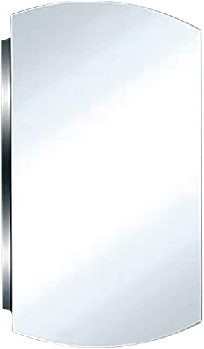 24″ Stainless Steel Medicine Cabinet Mirrored Wall Mount   Renovator's Supply