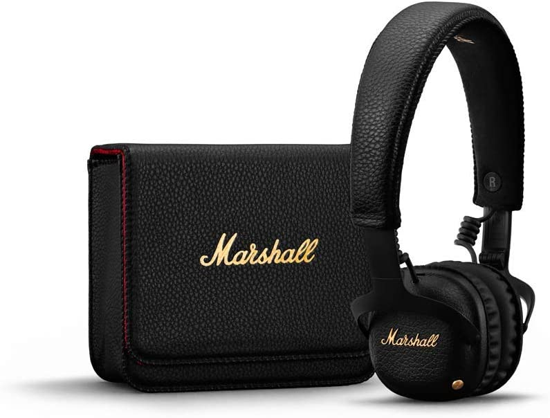 1 x casque bluetooth marshall mid a.n.c noir