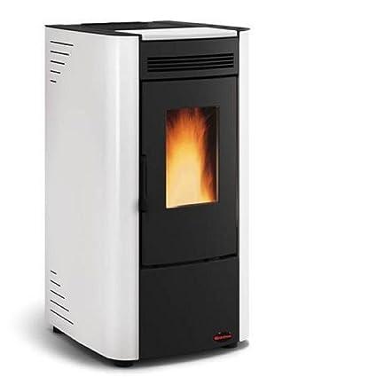 Estufa a PELLAS Extraflame Ketty revestimiento de acero barnizado Potencia térmica 6.3 kW – 180 M3