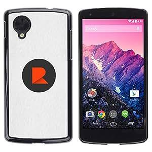 Slim Design Hard PC/Aluminum Shell Case Cover for LG Google Nexus 5 D820 D821 Dot R logo / JUSTGO PHONE PROTECTOR