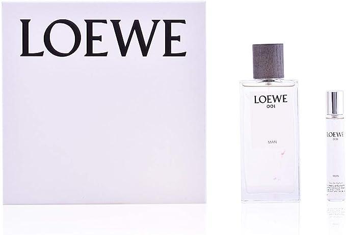 Loewe 001 Man Set de Regalo - 2 Piezas: Amazon.es: Belleza