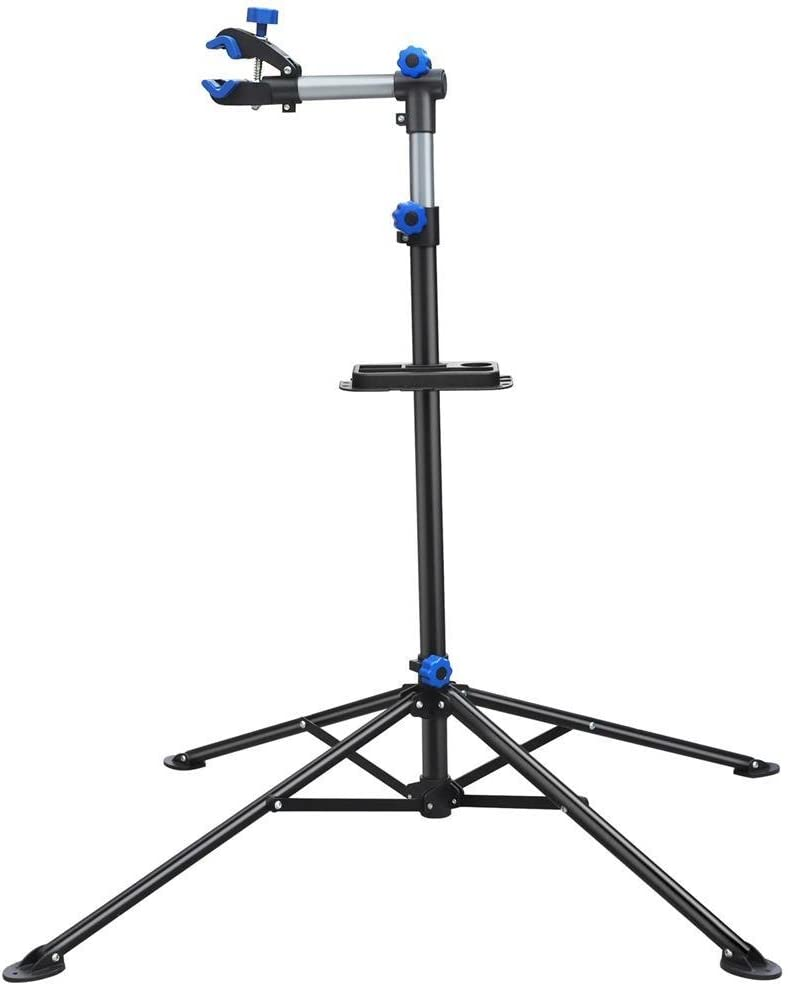 Yaheetech Pro Bicycle Rack Bike Repair Stand Adjustable Rack 52-75in w Telescopic Arm