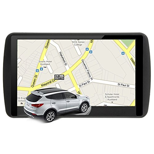 Car GPS Navigation, Ocamo 7 Inch LCD True Color Touch Screen Car GPS Navigation 8GB ROM MP3 MP4 Free Lifetime Map Updated?2017 Updated) - Southeast Asia Map Capacitive Screen + FM +8 G + DDR256M by Ocamo (Image #3)