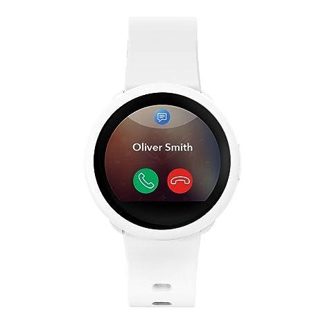 MyKronoz ZeRound3 Lite Reloj Inteligente Blanco TFT 3,1 cm ...