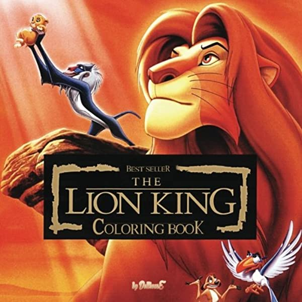 - Coloring Book The Lion King: Best Seller, Stress Relief, Serenity And  Relaxation, 100pgs (Volume 1): Dollhouse: 9781542527798: Amazon.com: Books
