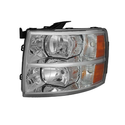 Side Moulding Left Driver - for Chevy Silverado Crystal Headlights Left