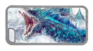 Hipster iPhone 5C sell cover marine monster TPU Transparent for Apple iPhone 5C