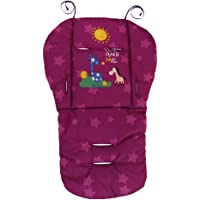 Prettyia Kids High Chair Cover Mat Baby Stroller Liner Car Seat Pad Cushion Protector - Purple, as described