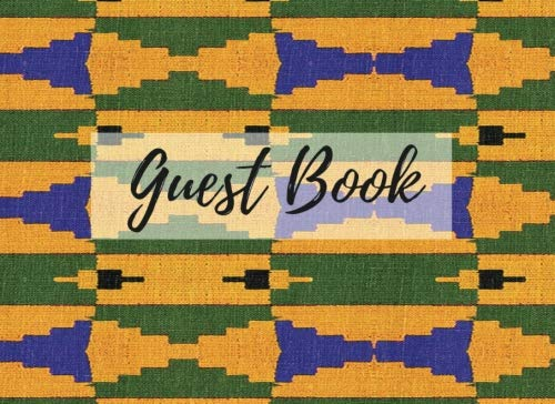 Search : Guest Book: (African Fabric (9), Event Guest Book, For Events, Anniversary, Retirement Party, Wedding, Birthday,101 pages - [Professional Binding]