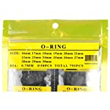 Top Plaza 750pcs O Ring Watch Back Gasket Rubber