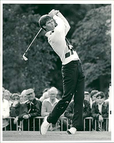 Vintage photo of Paul Azinger American professional golfer. (Memorabilia Paul Azinger)