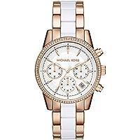 Michael Kors Women's Ritz Rose Gold-Tone Watch MK6324