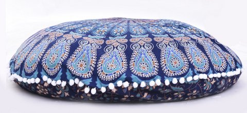 quilted foot stools - 1