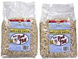 Bob's Red Mill Gluten Free Whole Grain Rolled Oats, 32 oz, 2 pk