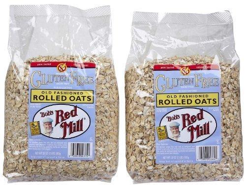Bob's Red Mill Gluten Free Whole Grain Rolled Oats, 32 oz, 2 pk