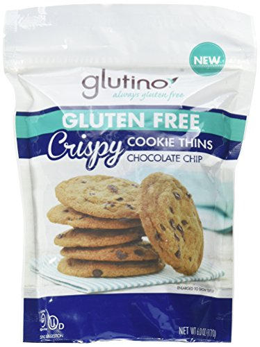 Chocolate Chip Cookie Vitamins (Glutino Gluten Free Crispy Cookie Thins, Chocolate Chip, 6 Ounce)