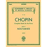 Nocturnes: Schirmer Library of Classics Volume 1550 Piano Solo