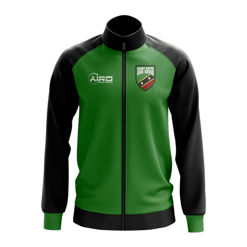 Airo Sportswear Saint Kitts and Nevis Concept Football Track Jacket (Grün)