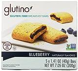 Glutino - Breakfast Bars - Blueberry - 4 Pack