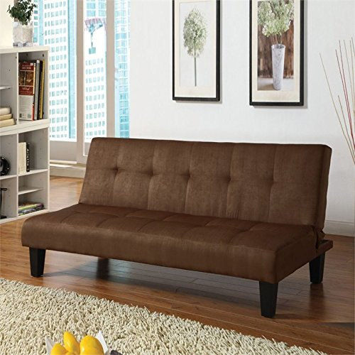 ACME 05674 Tufted Adjustable Back Sofa, Brown