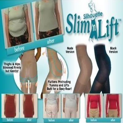 881805680 Amazon.com  Slim N Lift California Beauty Bodyshaping Undergarment As Seen  On TV - Small Size Pair in Nude Color with Bonus Pair in Black Color   Health ...