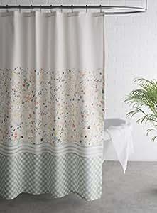 Amazon.com: Maison d' Hermine Colmar 100% Cotton Shower Curtain 72