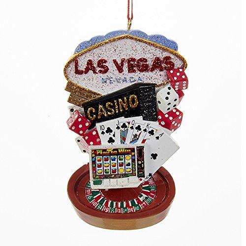 Kurt Adler Las Vegas Scene Christmas Ornament