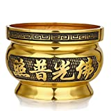 Temple, incense/[fine copper],alloy, incense,wealth,fragrant plug,aroma stove-M