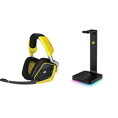 Corsair VOID PRO RGB Wireless Special Edition - Auriculares Gaming (PC, Inalámbricos),