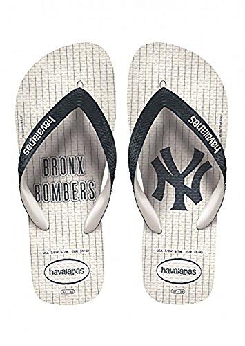 Havaianas Unisex Top Mlb Ny Yankees Sandal Vit
