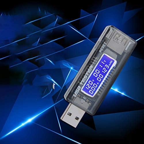 Rekkle T/él/éphone Portable Charge Rapide D/étecteur USB USB num/érique Affichage Amp/èrem/ètre USB Courant Voltm/ètre testeur
