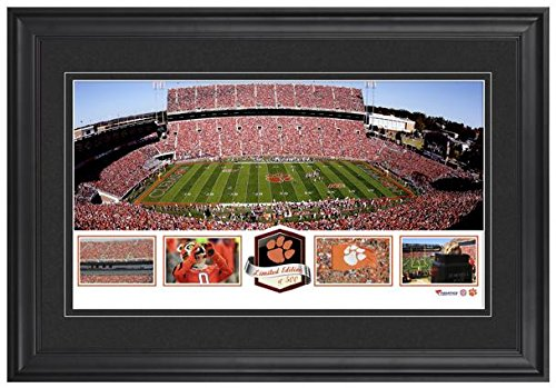 (Memorial Stadium Clemson Tigers Framed Panoramic Collage-Limited Edition of 500 - College Team Plaques and Collages )