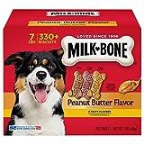 Cheap Milk-Bone Peanut Butter Flavor Dog Treats Variety Pack, Small/Medium/7 lb by Milk-Bone (1)