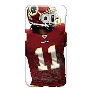 Sumsang Galaxy S6 Edge VJm2125QwBh Support Personal Customs Beautiful Washington Redskins Skin Shock-Absorbing Hard Cell-phone Case -allbestcases
