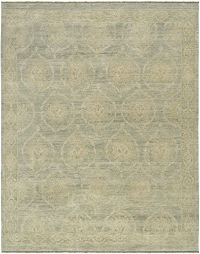 Pasargad Ottoman Collection Decorative Turkish Dynasty Design Hand-Knotted Wool Area Rug- 6x9 - Dynasty Collection Area Rug