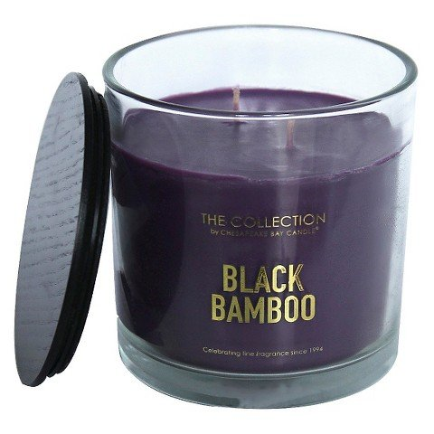 (The Collection Black Bamboo Jar Candle)