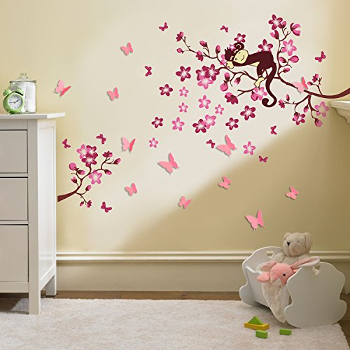 Chambre bb fille stylish ide chambre enfant rose and deco for Stickers chambre bebe fille
