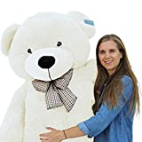 Joyfay Giant Teddy Bear 78'(6.5 Feet) White