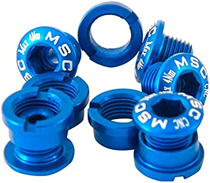 Msc M8X55MSCA55 - Kit tornillos platos m8x55/65 alu7075t6 10 unidades