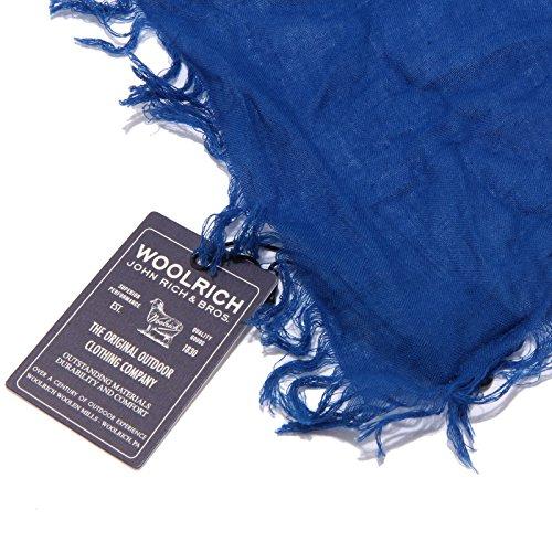 Cotton Scarf Sciarpa 1269w Bimbo Woolrich Cobalt Blue Bluette Kid anqgRnCFK